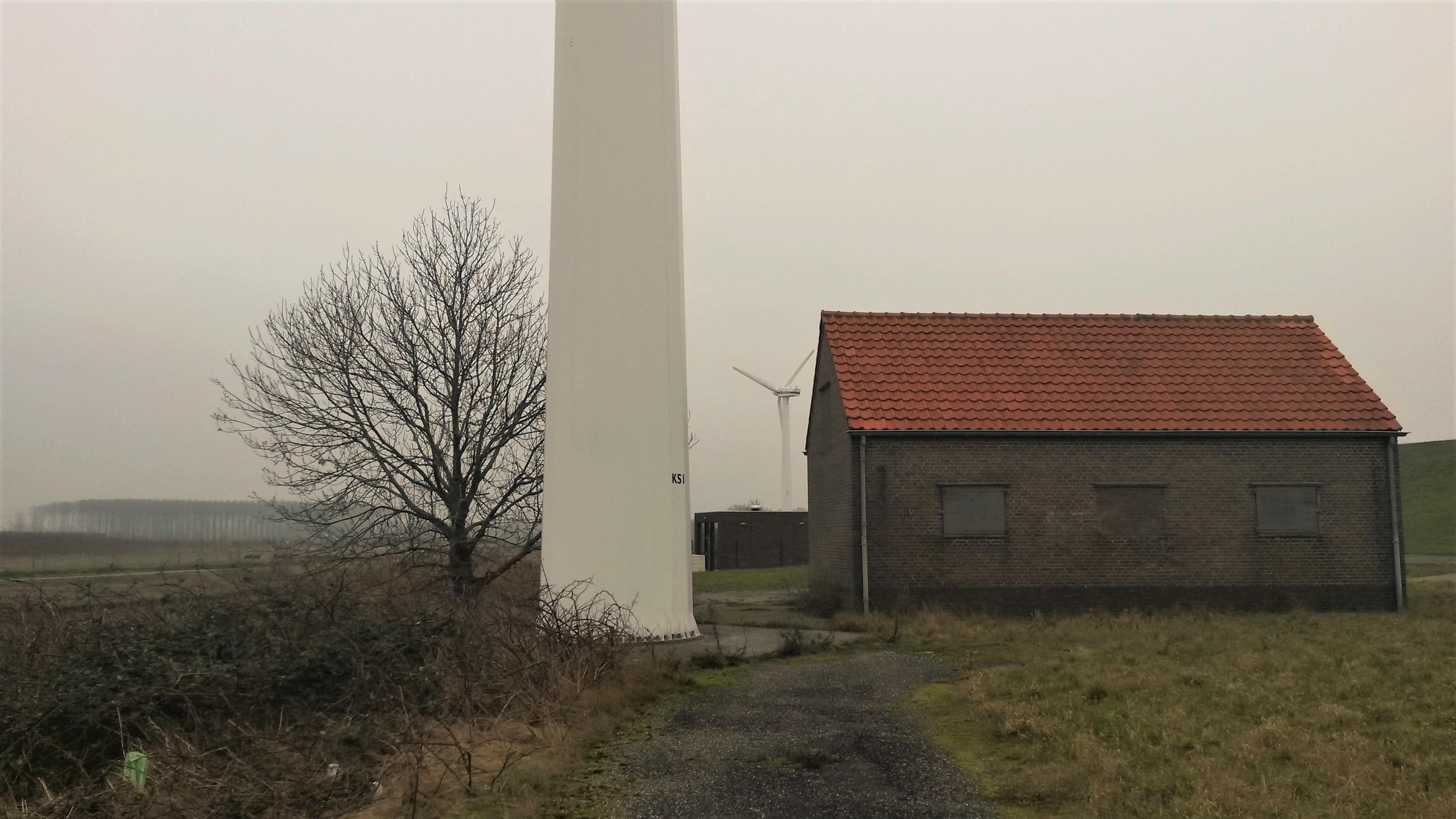 Het huidige Windpark Kapelle Schore